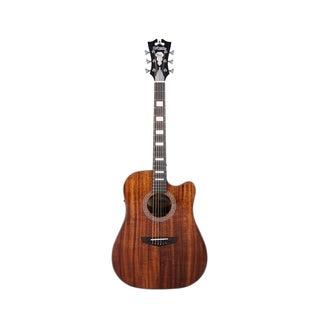 D'Angelico Premier Bowery Acoustic-Electric Guitar - Koa