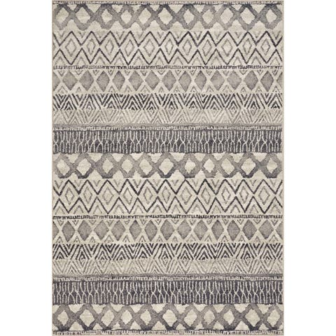 KAS Laguna Grey Horizon Contemporary Rug