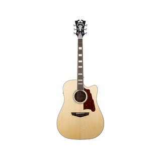 D'Angelico Premier Bowery Acoustic-Electric Guitar - Natural