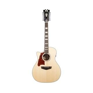 D'Angelico Premier Fulton 12-String Lefty Acoustic-Electric Guitar - Natural