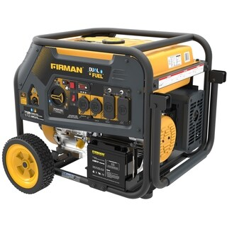 Firman H05753 7100/5700 Watt Dual Fuel Electric Start Generator, cETL