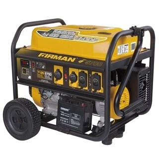 Firman P05703 7125/5700 Watt 120/240 V Gas Remote Start Generator - YELLOW