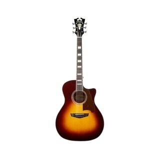 D'Angelico Premier Gramercy Acoustic-Electric Guitar - Vintage Sunburst