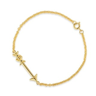 Gold Plated Arrow Bracelet