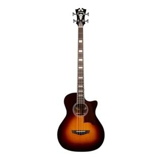 D'Angelico Premier Mott Acoustic-Electric Bass - Vintage Sunburst