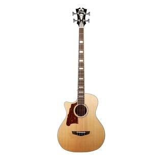 D'Angelico Premier Mott Lefty Acoustic-Electric Bass - Natural