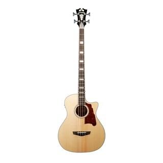 D'Angelico Premier Mott Acoustic-Electric Bass - Natural