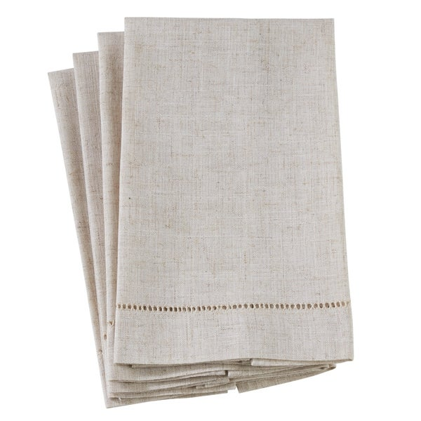 Shop Poly And Linen Blend Guest Towels With Plain Hemstitch Design - On  Sale - Free Shipping On Orders Over  45 - Overstock - 22848752 39b564c5d