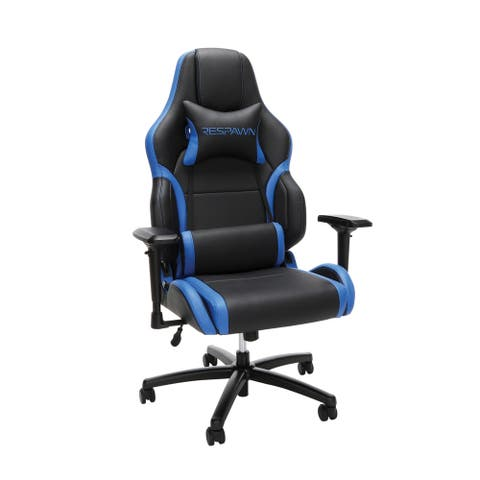 RESPAWN-400 Big and Tall Racing Style Leather Gaming Chair