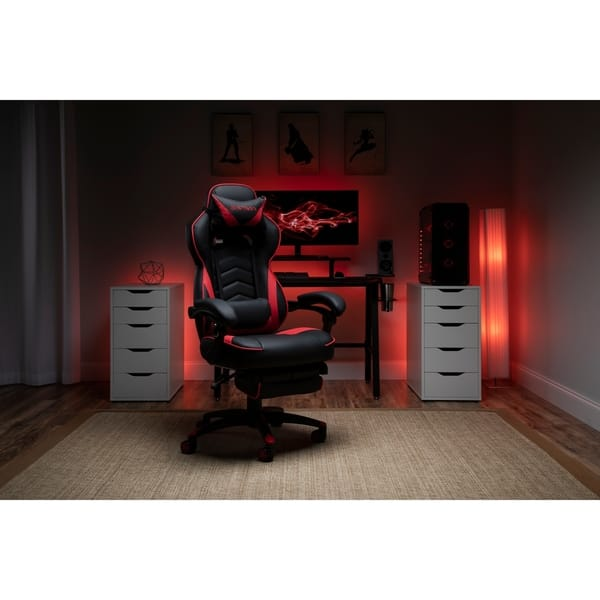 Shop Respawn 110 Bonded Leather Racing Style Reclining Gaming