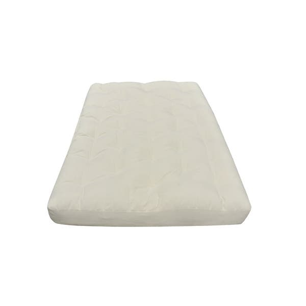 5 Full Organic Cotton And Wool Futon Mattress Overstock 22848810