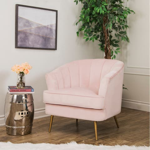 Blush Pink Accent Chairs.Accent Chairs Pink Shop Online At Overstock