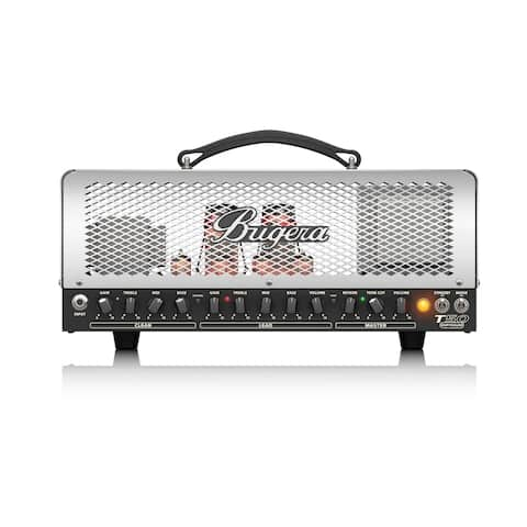 Bugera T50 Infinium Cage-Style 2-Channel Guitar Tube Amp Head w/ Multi-Class A/AB Operation & Reverb - 50 Watt
