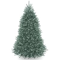 6.5 ft. Dunhill® Blue Fir Tree with Clear Lights
