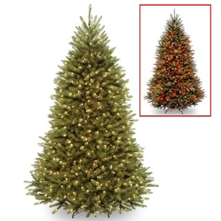 7.5 ft. PowerConnect(TM) Dunhill® Fir Tree with Dual Color® LED Lights