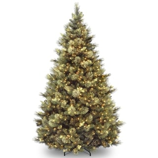 Link to 7 ft. Carolina Pine Tree with Clear Lights Similar Items in Christmas Greenery
