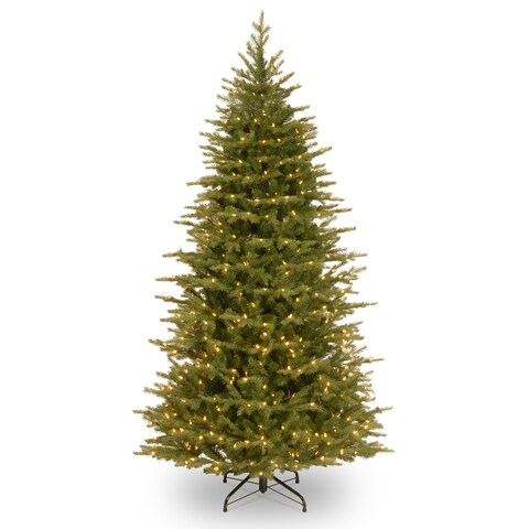 6.5 ft. Nordic Spruce® Slim Tree with Dual Color® LED Lights
