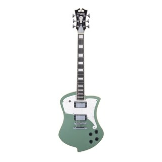 D'Angelico Premier Ludlow Electric Guitar - Army Green