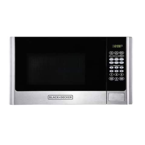 Black & Decker EM925AME-P1 0.9-Cubic Foot Countertop Microwave, Stainless Steel