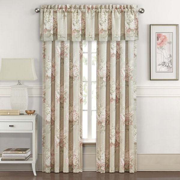 Shop Royal Court Eleanor Natural Floral 84 Inch Window