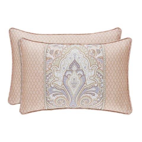 Royal Court Sloane Damask Boudoir Throw Pillow
