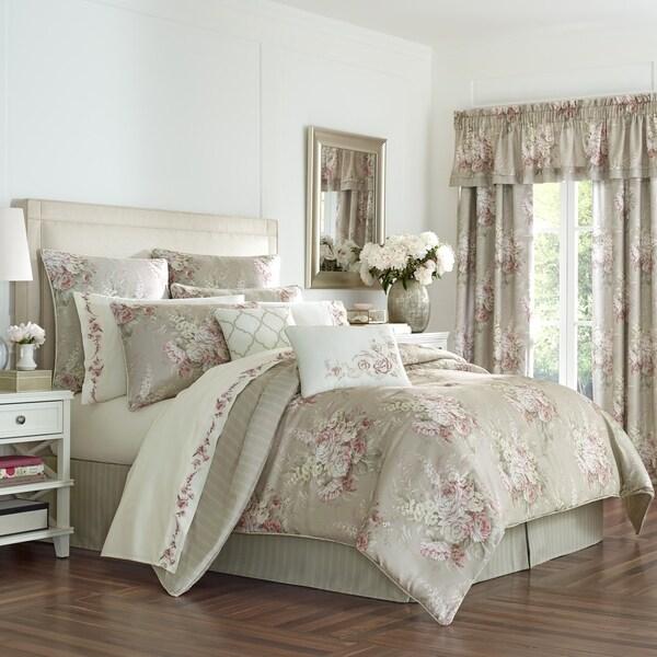 Royal Court Eleanor Floral 4 Piece Comforter Set