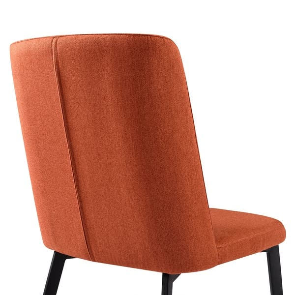 Magnificent Shop Armen Living Maine Contemporary Dining Chair In Matte Camellatalisay Diy Chair Ideas Camellatalisaycom
