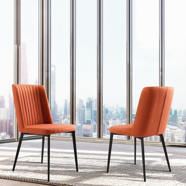 Surprising Shop Armen Living Maine Contemporary Dining Chair In Matte Camellatalisay Diy Chair Ideas Camellatalisaycom