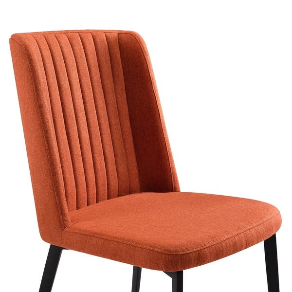Marvelous Shop Armen Living Maine Contemporary Dining Chair In Matte Camellatalisay Diy Chair Ideas Camellatalisaycom