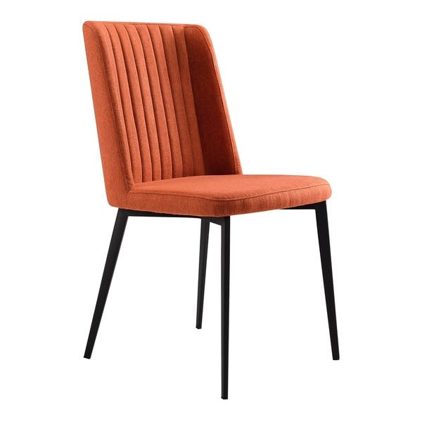 Pleasant Shop Armen Living Maine Contemporary Dining Chair In Matte Camellatalisay Diy Chair Ideas Camellatalisaycom