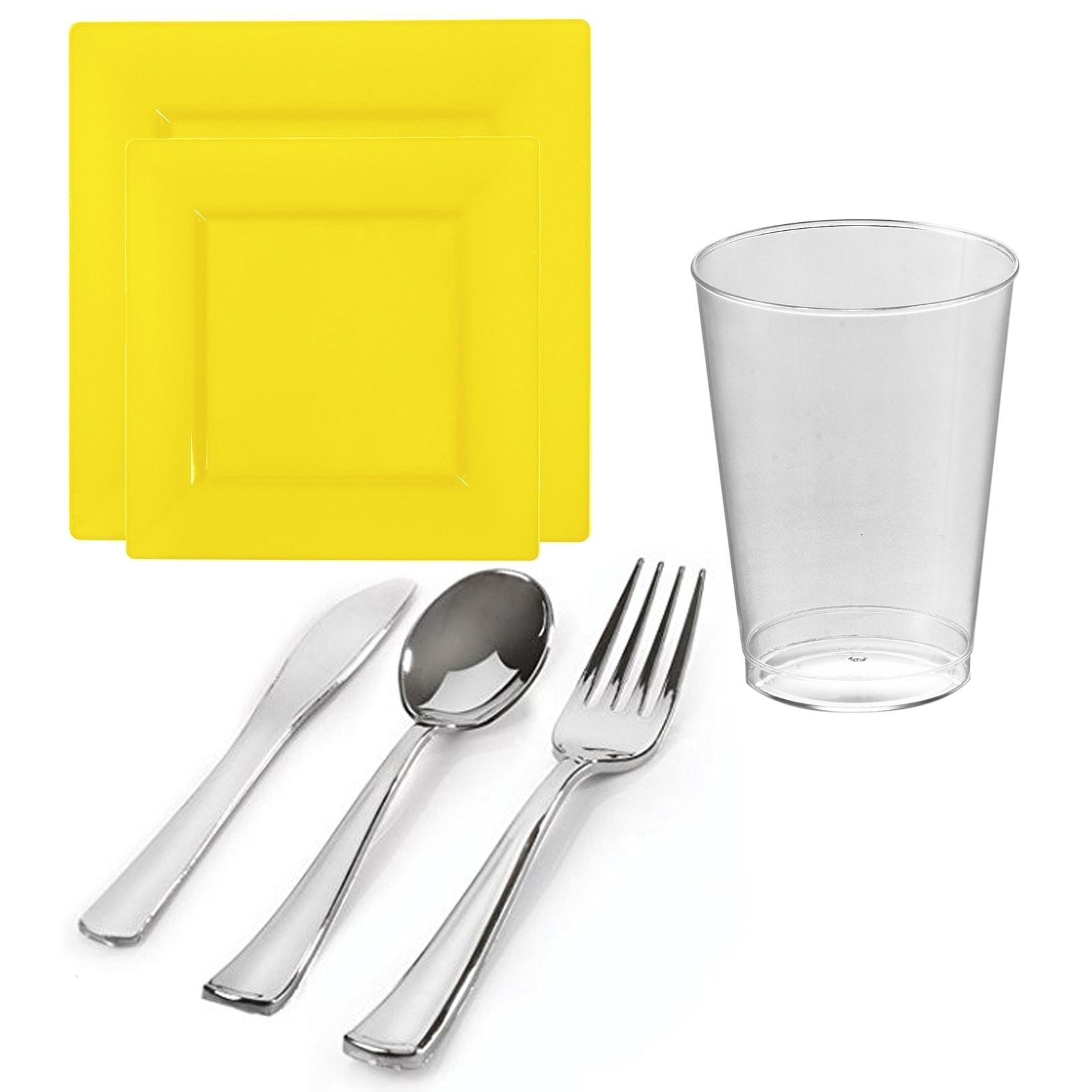 Buy Yellow Plates Online at Overstock.com | Our Best Dinnerware Deals