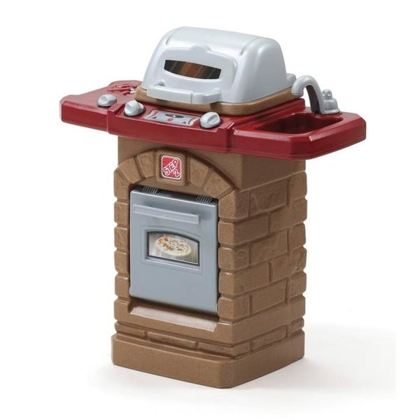 Shop Step2 Fixin' Fun Outdoor Grill - Overstock - 22851176