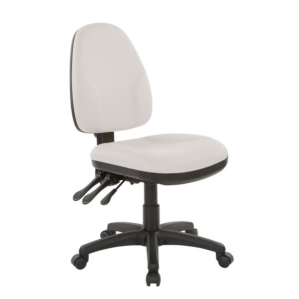Dual Function Fabricated Ergonomic Office Chair. Opens flyout.
