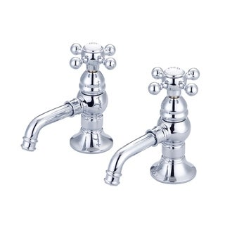 Vintage Classic Basin Beaks Lavatory Faucets in Chrome Finish
