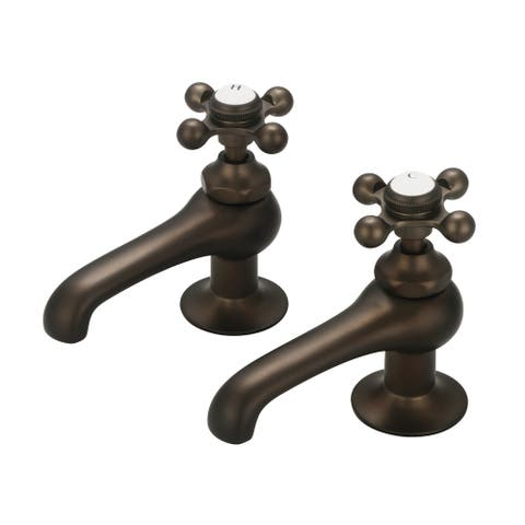 Vintage Classic Basin Beaks Lavatory Faucets in Oil-rubbed Bronze Finish
