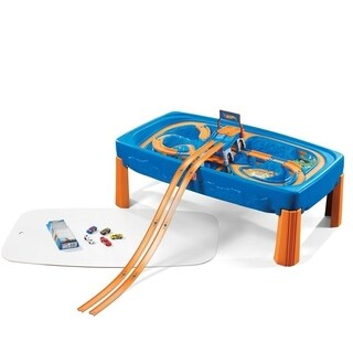 Step2 Hot Wheels Car & Track Play Table
