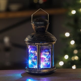 Ornaments LED String Light Round Lantern