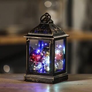 Ornaments LED String Light Square Lantern