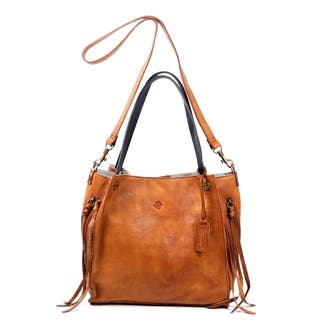 Buy Brown Leather Bags Online at Overstock.com   Our Best Shop By ... 4e754607f9