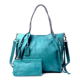Buy Blue Tote Bags Online at Overstock.com   Our Best Shop By Style ... cf7ce6b246