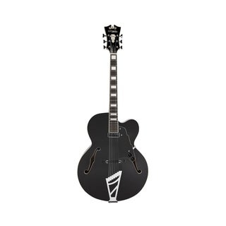 D'Angelico Premier EXL-1 Hollow-Body Electric Guitar w/ Stairstep Tailpiece - Black