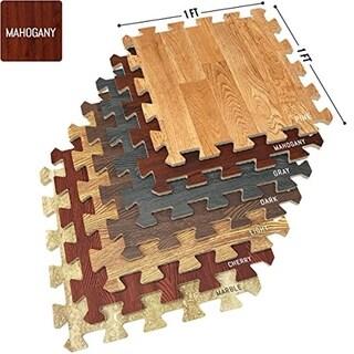 Shop Natural Rubber Mat Interlocking Flooring 36 X 36