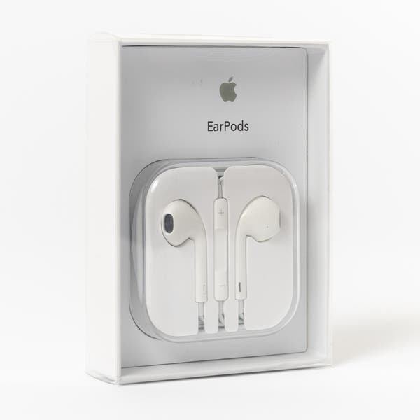 845847dcafd Shop Apple EarPods to 3.5mm Wired In-Ear Headphone - White - Free ...