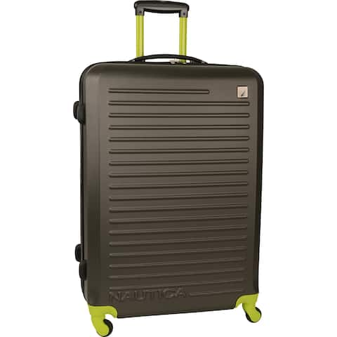 Nautica Tide Beach 28-inch Expandable Hardside Spinner Suitcase