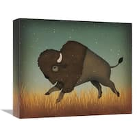 Global Gallery, Ryan Fowler 'Buffalo Bison II' Stretched Canvas Artwork