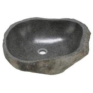 Bare Decor Rio Sink in Natural Stone