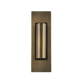 Bruck Lighting Letto Brushed Brass 2-inch LED Wall Spot