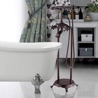 Vanity Art Oil-rubbed Bronze Freestanding Bathtub Faucet