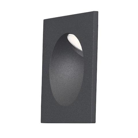 """Alumilux 3.25"""" Wide Aluminum Outdoor Step Light"""