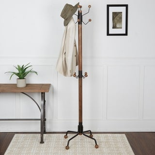 Greta Modern 12-hook Coat Rack